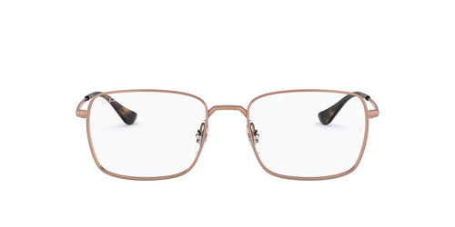 Ray Ban Rx - RX6437 Copper Rectangle Unisex Eyeglasses - 53mm
