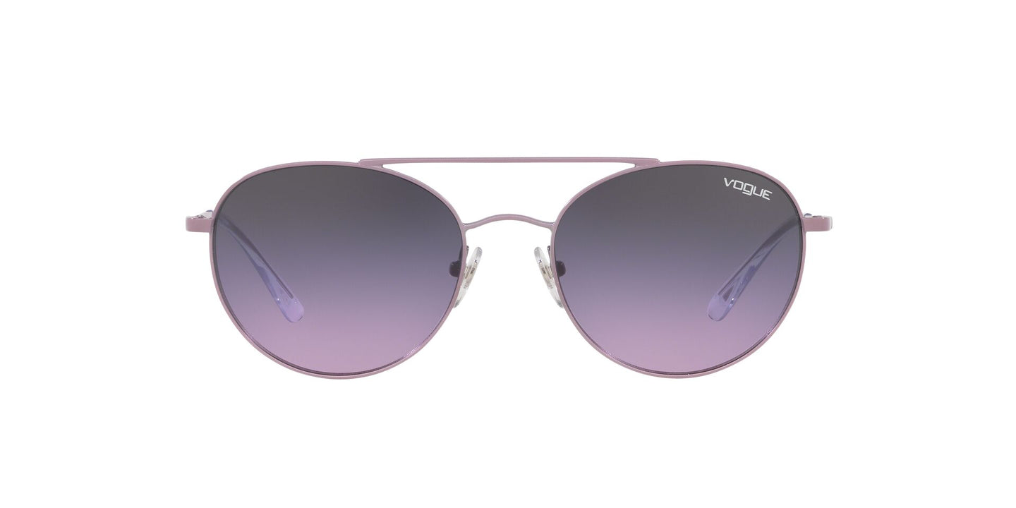 Vogue - VO4129S Lilac Oval Women Sunglasses - 53mm