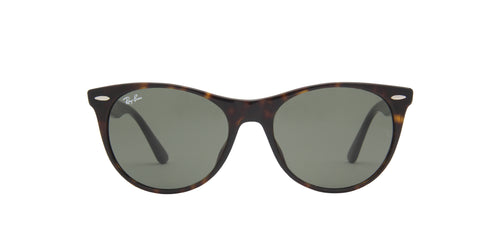 Ray Ban - Wayfarer II Havana/Green Unisex Sunglasses - 55mm