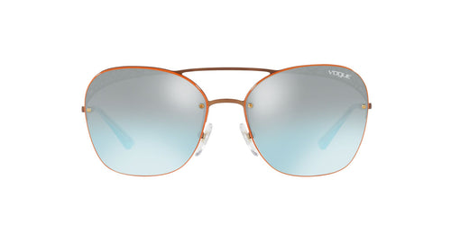 Vogue - VO4104S Copper Square Women Sunglasses - 57mm