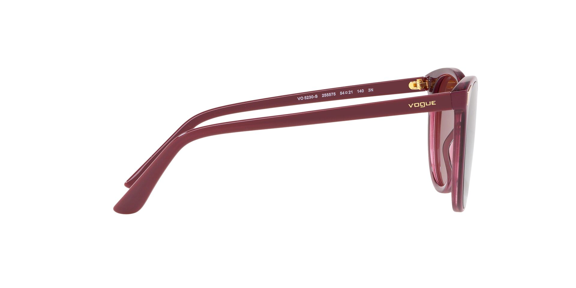 Sunglasses Vogue VO 5230 S 255575 TOP DARK RED//RED TRANSP
