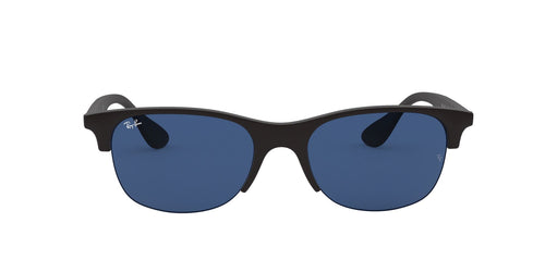 Ray Ban - RB4419 Rubber Black Square Unisex Sunglasses - 54mm