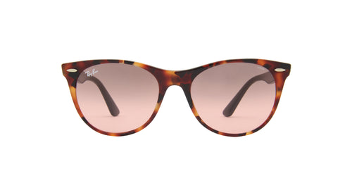 Ray Ban - Wayfarer II Red Havana Square Unisex Sunglasses - 55mm