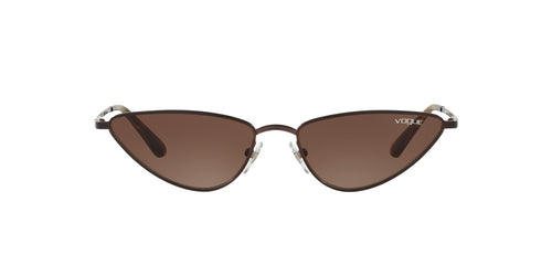 Vogue - VO4138S Brown Cat Eye Women Sunglasses - 56mm