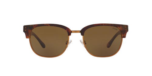 Ralph- Polo - PH4152 Jerry Tortoise/ Bronze Pillow Men Sunglasses - 54mm