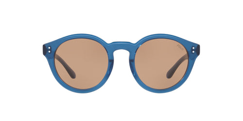 Ralph- Polo - PH4149 Trasparent Blue Phantos Women Sunglasses - 49mm