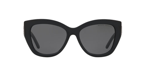 Ralph- Polo - RL8175 Black Square Women Sunglasses - 54mm