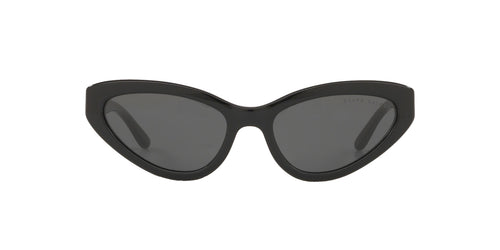 Ralph- Polo - RL8176 Black Cat Eye Women Sunglasses - 55mm