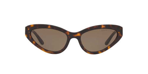 Ralph- Polo - RL8176 Dark Havana Cat Eye Women Sunglasses - 55mm