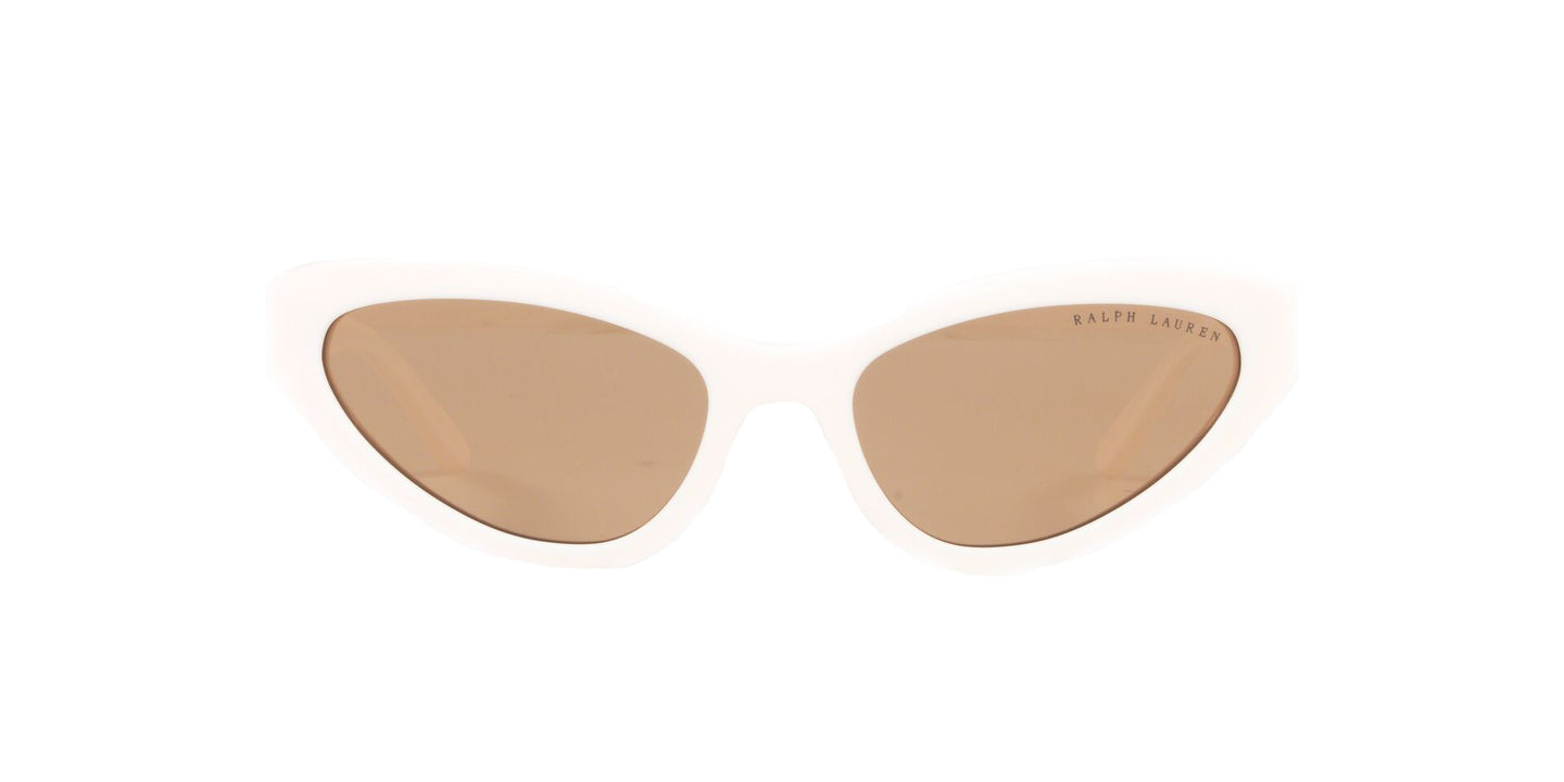 Ralph- Polo - RL8176 Cream White Cat Eye Women Sunglasses - 55mm
