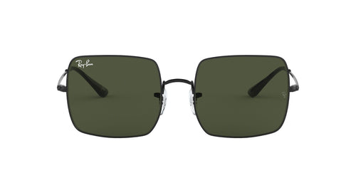 Ray Ban - RB1971 Black Square Unisex Sunglasses - 54mm