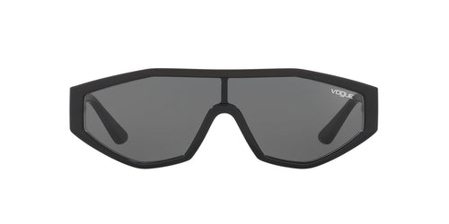 Vogue - VO5284S Black/Grey Shield Women Sunglasses - 32mm