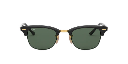 Ray Ban - RB4354 Black/Green Phantos Unisex Sunglasses - 49mm