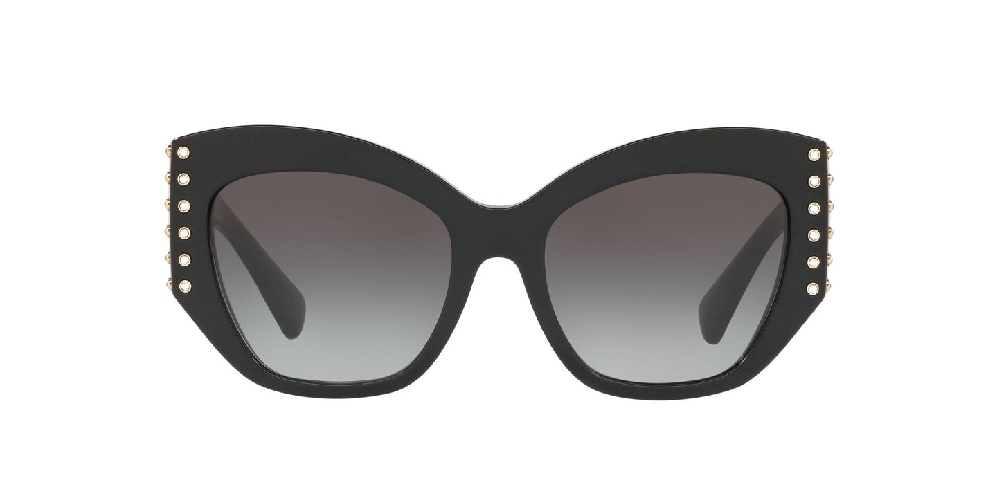 Valentino - VA4056 Black/Gradient Black Butterfly Women Sunglasses - 54mm