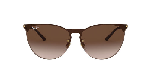 Ray Ban - RB3652 Rubber Gold Phantos Unisex Sunglasses - 41mm