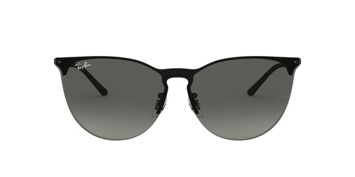 Ray Ban - RB3652 Rubber Black Phantos Unisex Sunglasses - 41mm