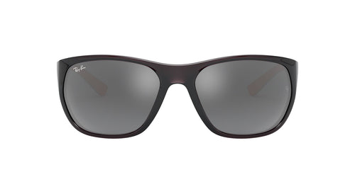 Ray Ban - RB4307 Trasparent Grey Square Men Sunglasses - 61mm
