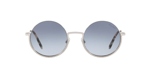 Miu Miu - MU69US Silver/Blue Gradient Round Women Sunglasses - 52mm
