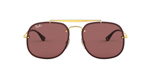 Ray Ban - RB3583N Gold Aviator Unisex Sunglasses - 58mm