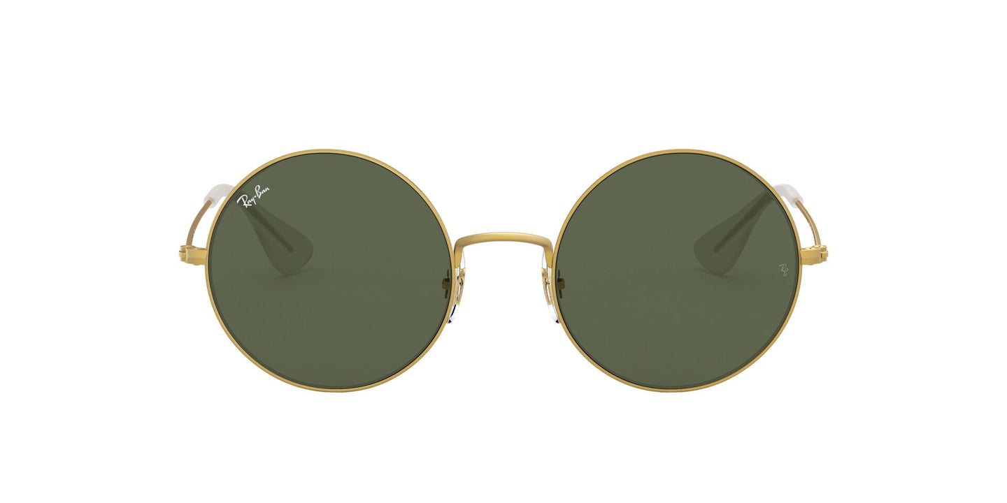 Ray Ban - RB3592 Rubber Gold Round Women Sunglasses - 50mm