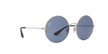 Ray Ban - Ja-Jo Rubber Silver Round Women Sunglasses - 55mm