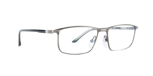 Starck - SH2047 Antique Gunmetal Rectangular Men Eyeglasses - 56mm