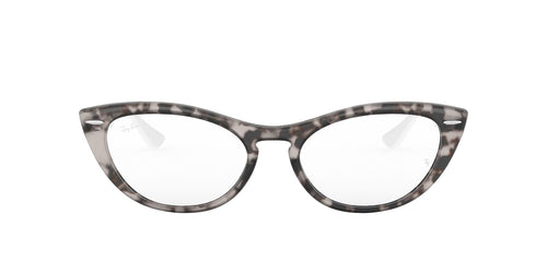 Ray Ban Rx - RX4314V Grey Havana Cat Eye Women Eyeglasses - 54mm