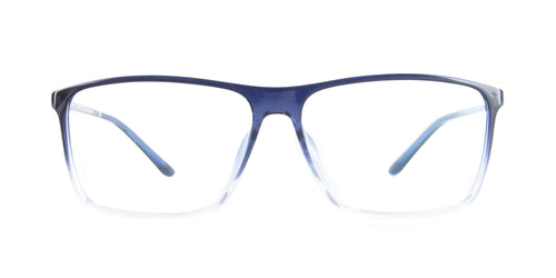 Starck - SH3030 Crystal /Blue Gradient Rectangular Men Eyeglasses - 61mm