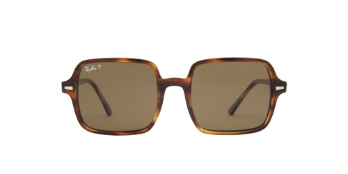 Ray Ban - Square Ii Stripped Havana Square Women Sunglasses - 53mm