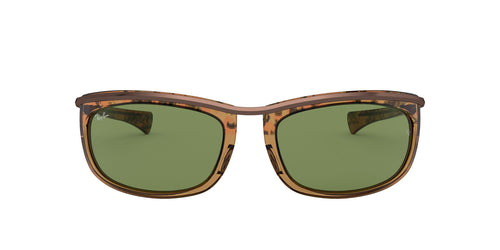 Ray Ban - RB2319 Gradient Havana Brown Oval Unisex Sunglasses - 62mm