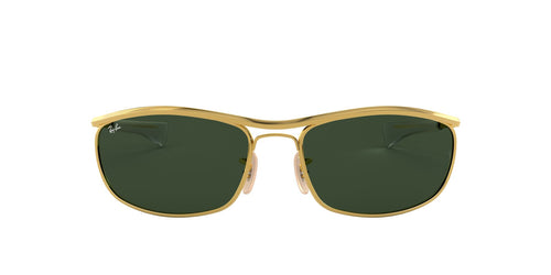 Ray Ban - Olympian I Deluxe Gold/Green Wrap Unisex Sunglasses - 62mm