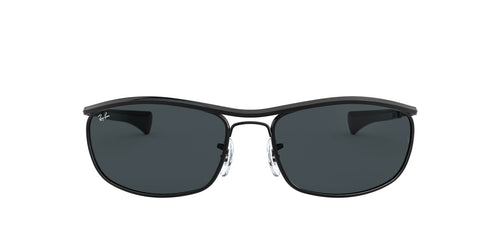 Ray Ban - Olympian I Deluxe Black/Blue Wrap Unisex Sunglasses - 62mm