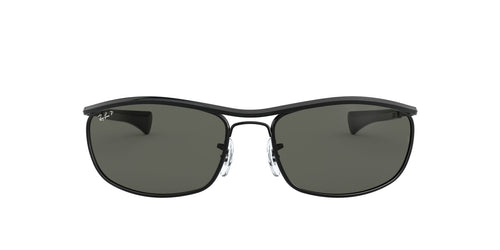 Ray Ban - RB3119M Black Oval Unisex Sunglasses - 62mm