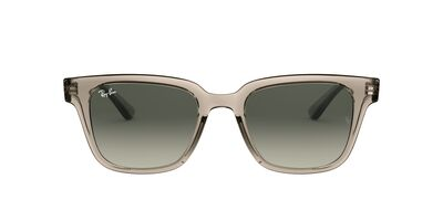 Ray Ban - RB4323 Trasparent Grey Square Unisex Sunglasses - 51mm