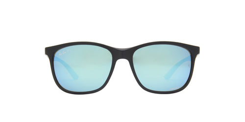 Ray Ban - Chromance Sand  Black Square Unisex Sunglasses - 56mm