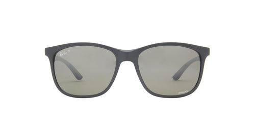 Ray Ban - Chromance Sand Grey Square Unisex Sunglasses - 56mm