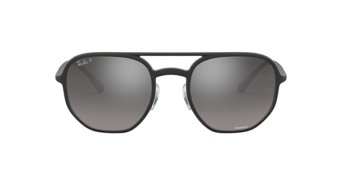 Ray Ban - RB4321CH Matte Black Square Unisex Sunglasses - 53mm
