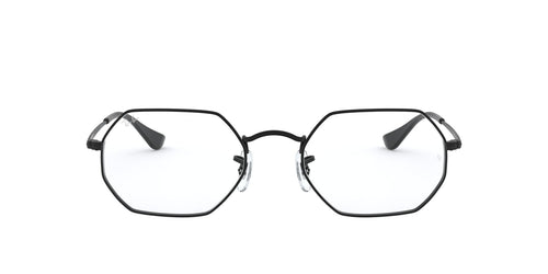 Ray Ban Rx - RX6456 Black Irregular Unisex Eyeglasses - 53mm