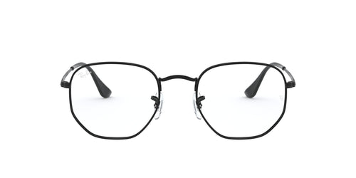 Ray Ban Rx - RX6448 Black Irregular Unisex Eyeglasses - 54mm