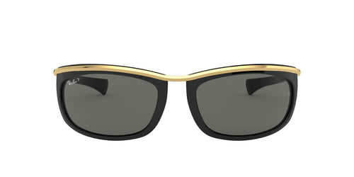 Ray Ban - RB2319 Black Oval Unisex Sunglasses - 62mm
