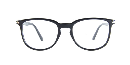 Persol - PO3240V Black Butterfly Men Eyeglasses - 52mm