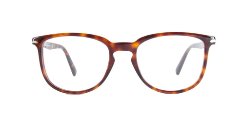 Persol - PO3240V Havana Butterfly Men Eyeglasses - 52mm