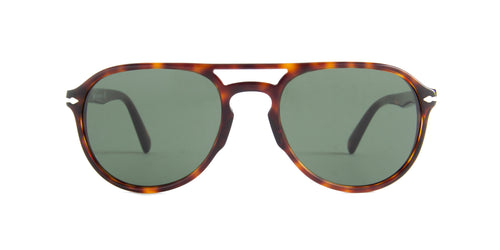 Persol - PO3235S Havana Aviator Men Sunglasses - 55mm