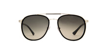 Persol - PO2466S Silver/Black Aviator Men Sunglasses - 56mm