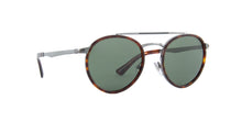 Persol - PO2467S Gunmetal/Havana Oval Men Sunglasses - 50mm