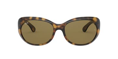 Ray Ban - RB4325 Havana/Brown Square Women Sunglasses - 59mm