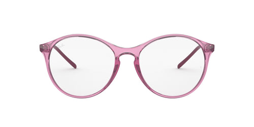 Ray Ban Rx - RX5371 Trasparent Pink Phantos Women Eyeglasses - 53mm