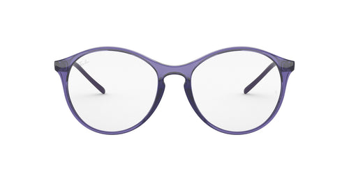 Ray Ban Rx - RX5371 Trasparent Violet Phantos Women Eyeglasses - 53mm