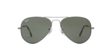 Ray Ban - Aviator Classic Sand Transparent Grey Unisex Sunglasses - 55mm