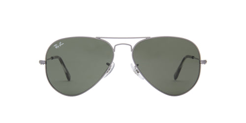 Ray Ban - Aviator Classic Grey/Green Unisex Sunglasses - 55mm